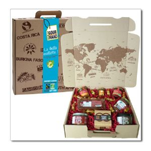 "Grand coffret Gourmand ""Douceurs de Noël"""
