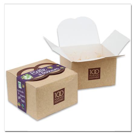 Coffret cadeau surprise faire soi m me la box bio - Boite coffret cadeau vide ...