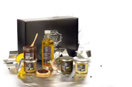 "Coffret gourmand bio Présent Simple ""Garrigue"""