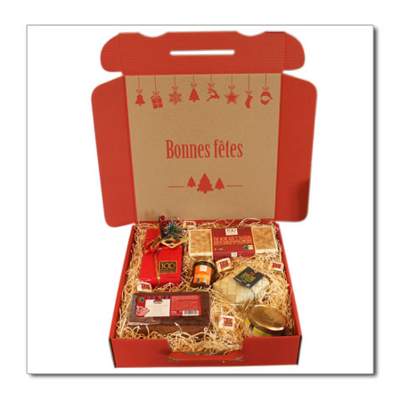 Grand coffret gourmand de Noël